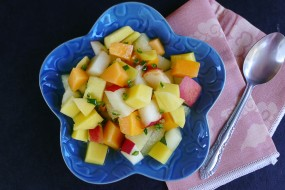 Melon Toad Salad
