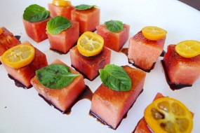 Balsamic Watermelon