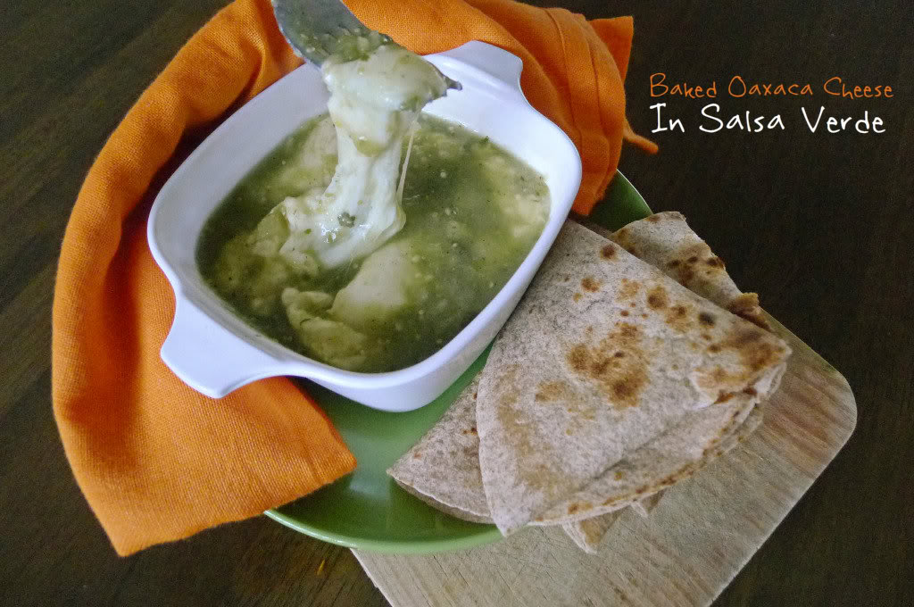 Queso Fundido in Salsa Verde