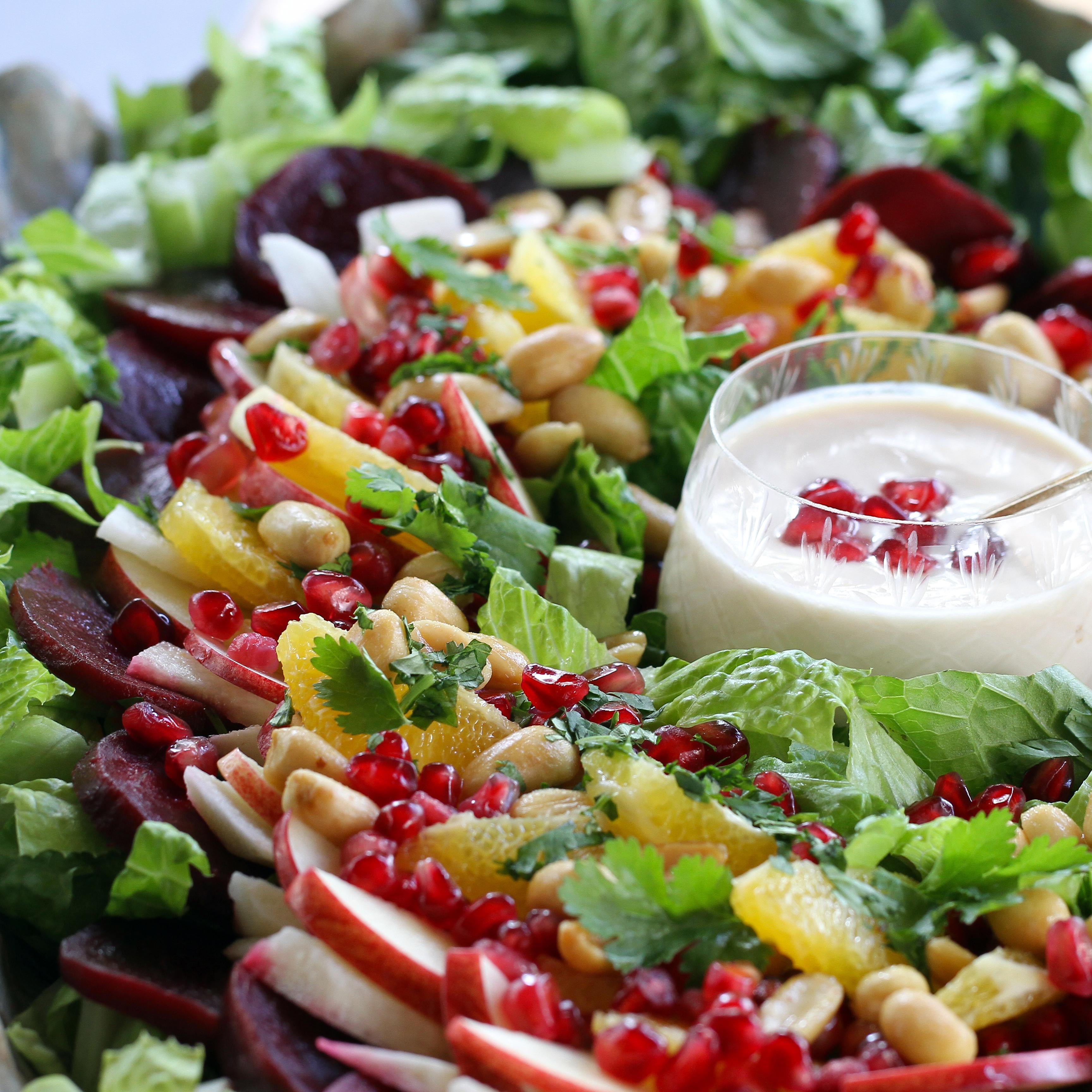 Christmas Salad Recipes.Christmas Eve Salad
