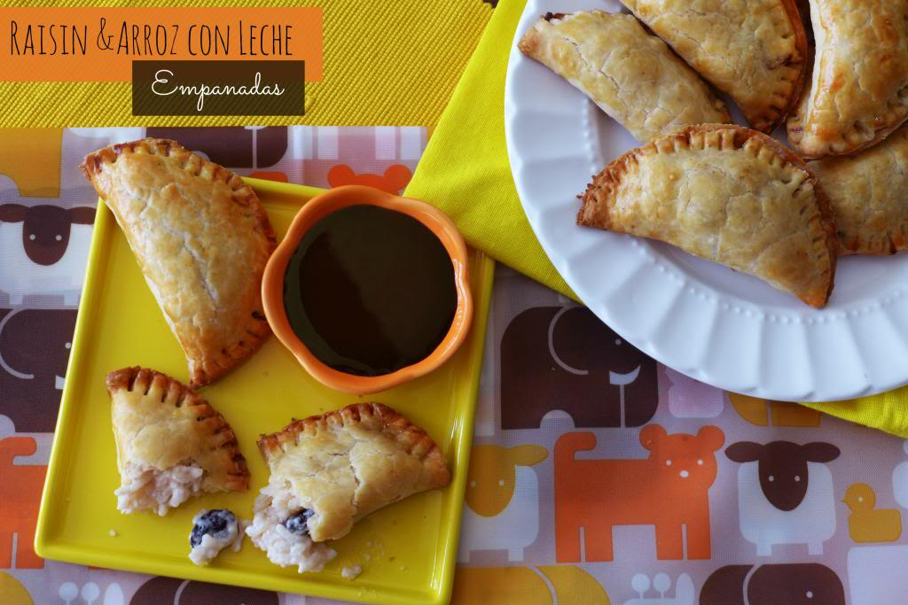 Raisin and Arroz con Leche Empanadas