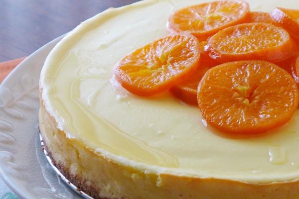 Tangerine Cheesecake