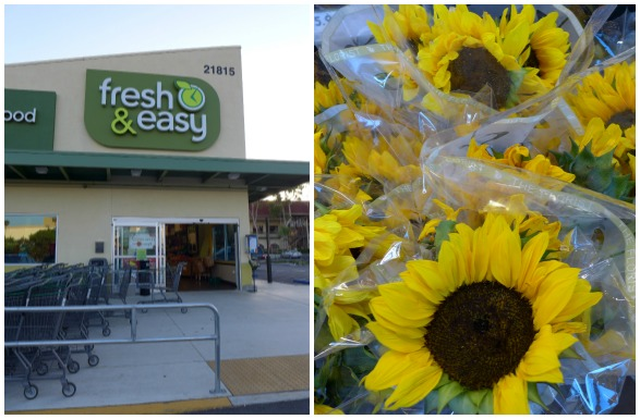 Fresh & Easy and Sunflowers