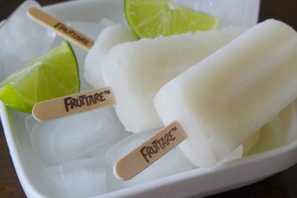 Lemon frozen pops