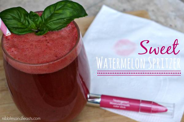 Sweet Watermelon Spritzer