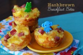 Hashbrown Breakfast Bites