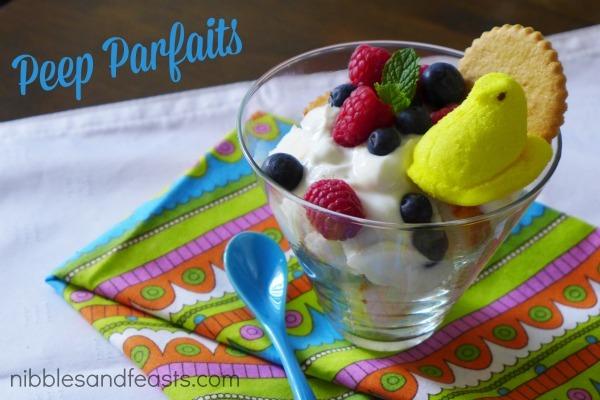 Peep Parfaits NiiblesandFeasts.com