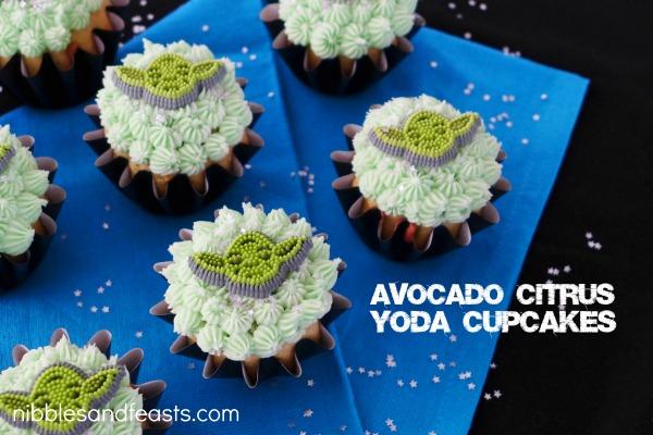Avocado Citrus Cupcakes