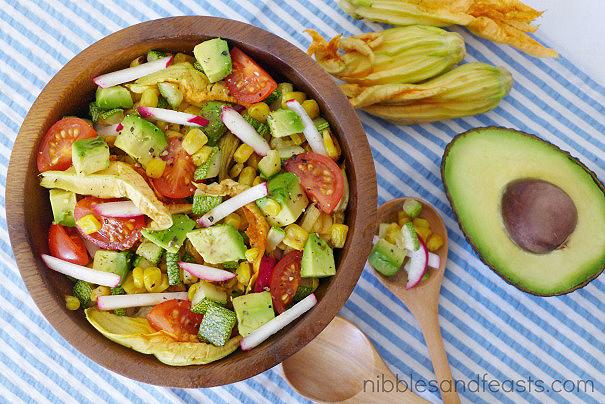 Confetti Avocado Salad