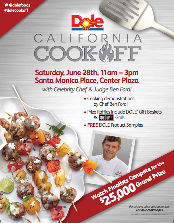 Dole CAli cookoff