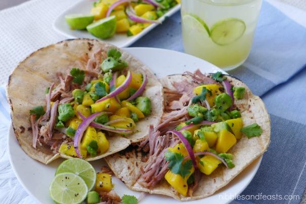 Mango Chipotle Tacos