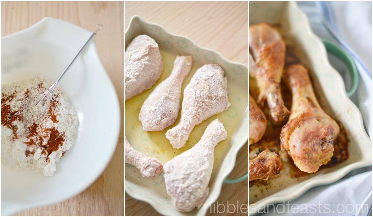 Guajillo Spiced Baked Chicken