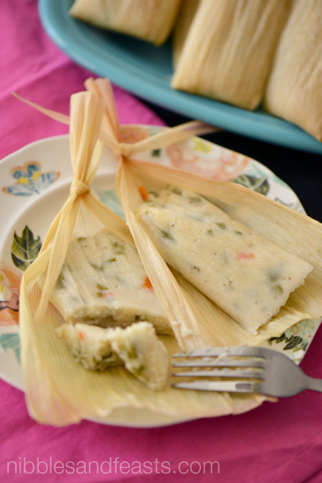 Jalapeno and Cactus Tamales