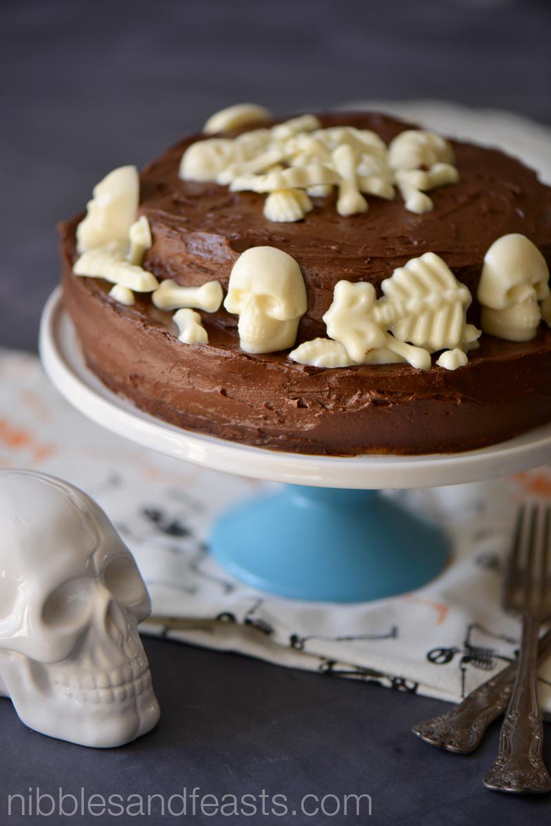 Boneyard Chocolate Cake