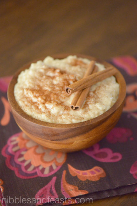 Rice Pudding | Arroz con Leche - Nibbles and Feasts