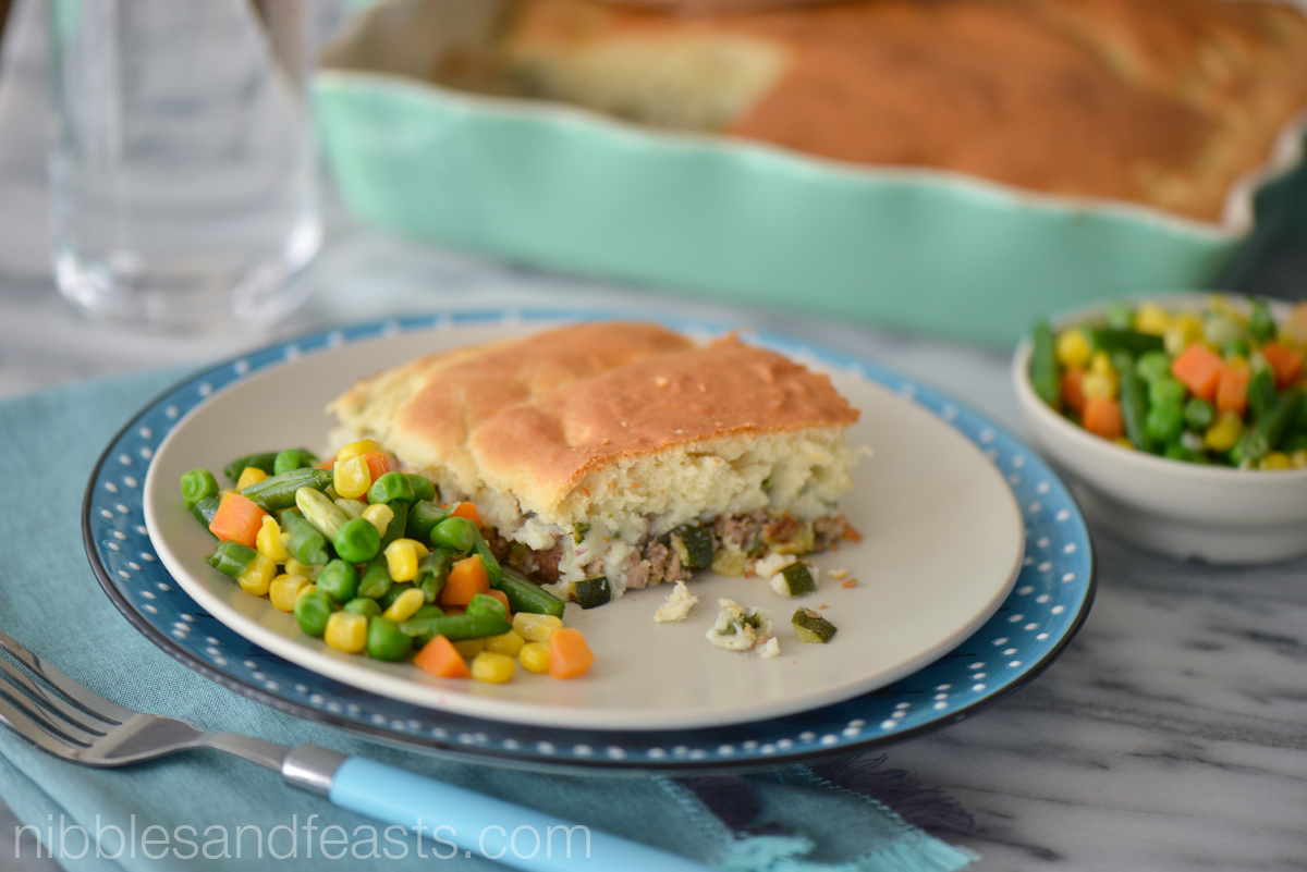 Lamb and Poblano Potato Pot Pie