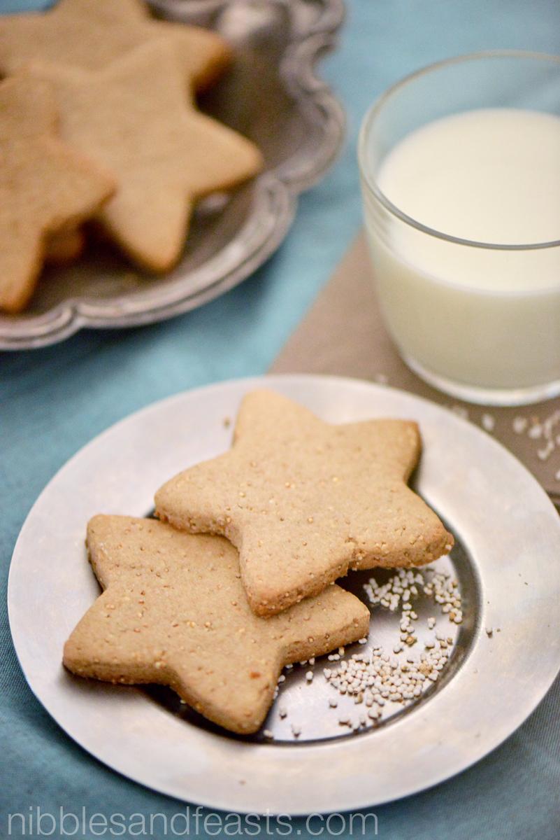 Amaranth Cookies