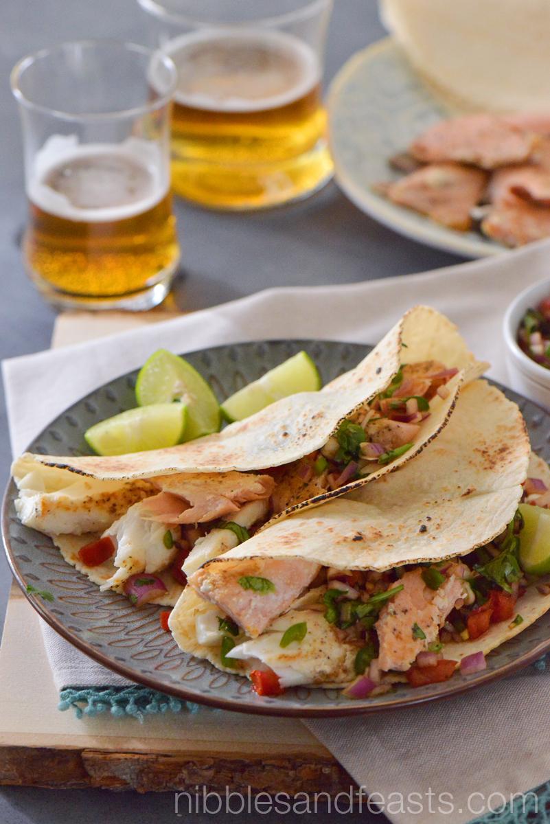 Fish Tacos en Escabeche