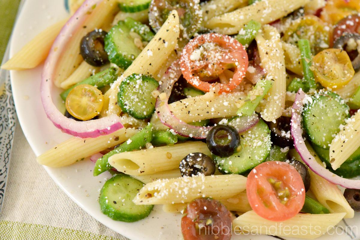 Vinaigrette Pasta Salad