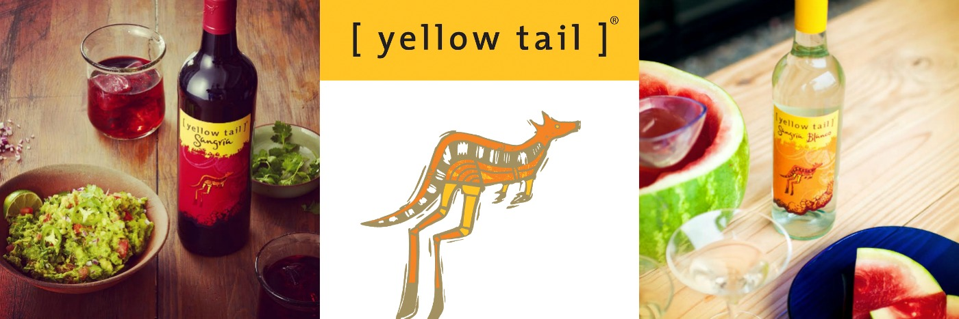 Yellow tail collage