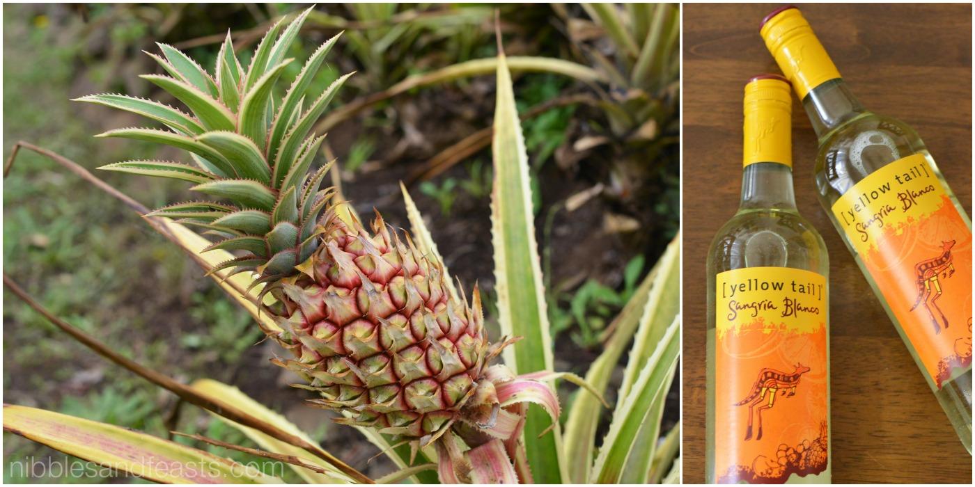 sangria pineapple