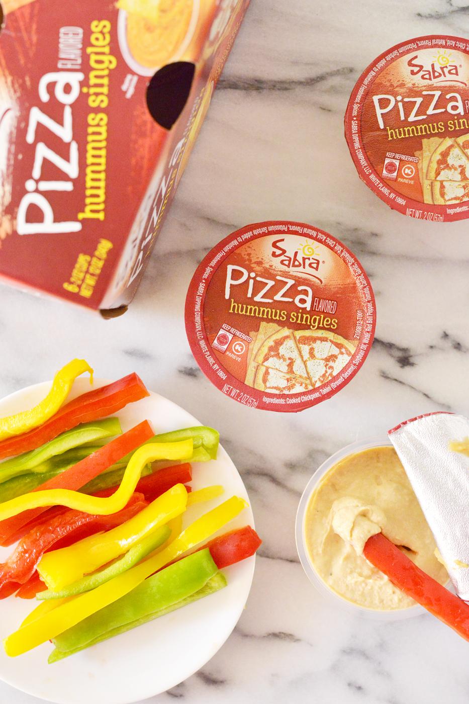Pizza Hummus Burritas