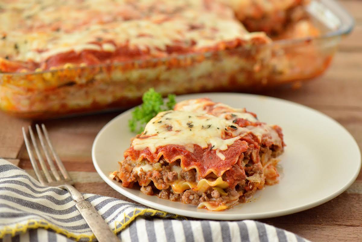 Spicy Lasagna