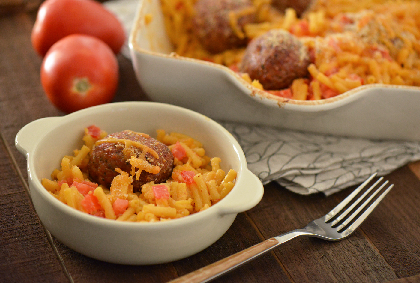 Meatballs Mac n cheese
