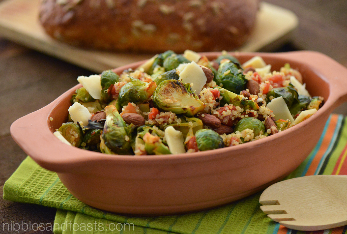 Brussels Sprouts Quinoa Salad