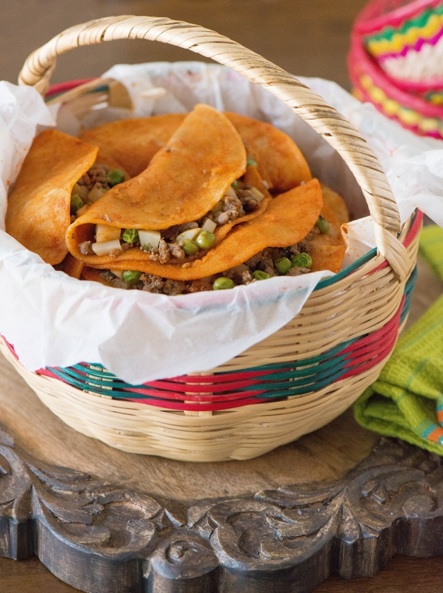 Tacos De Canasta Basket Tacos 187 Nibbles And Feasts