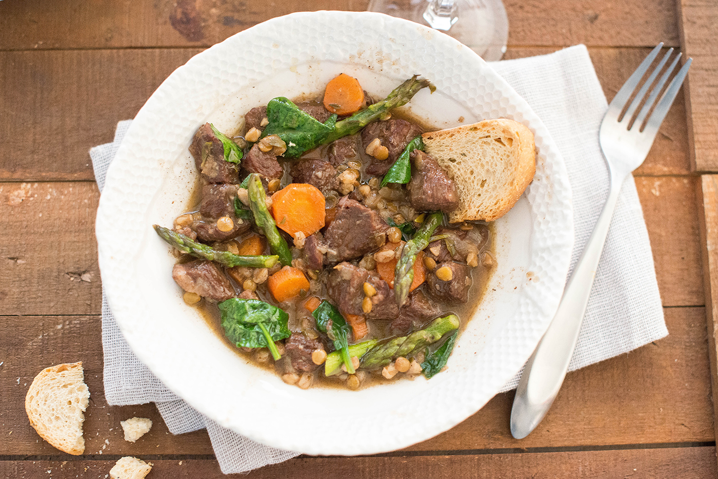 Ragout of Lamb