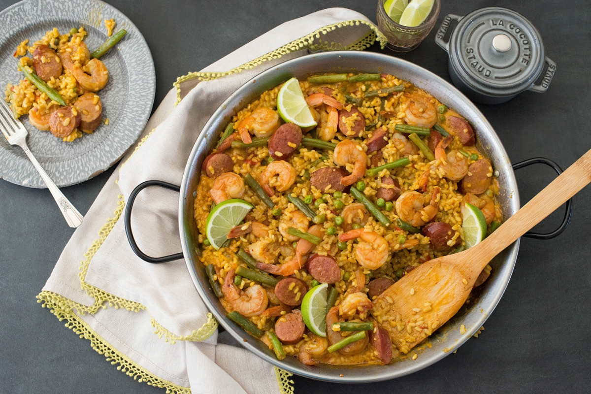 Easy Paella 187 Nibbles And Feasts