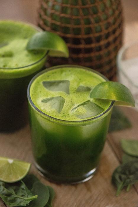 Spinach Lime Agua Fresca