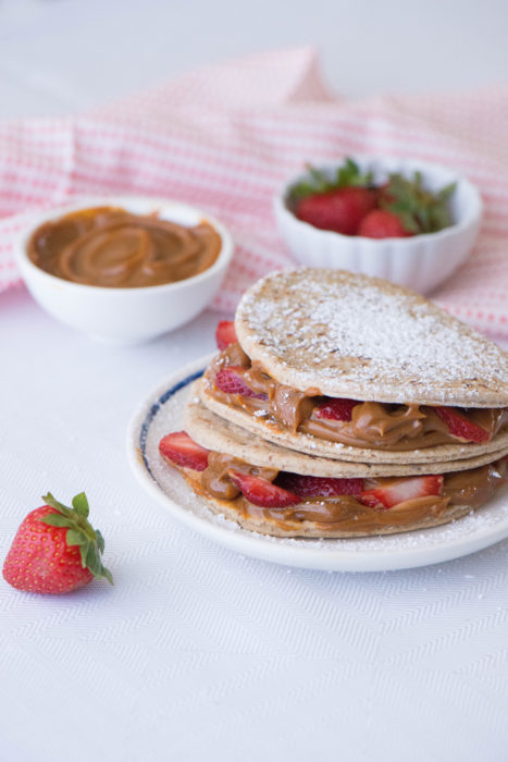 Dulce De Leche Strawberry Fold It