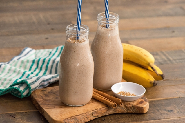 Cinnamon Pecan and Oats Smoothie