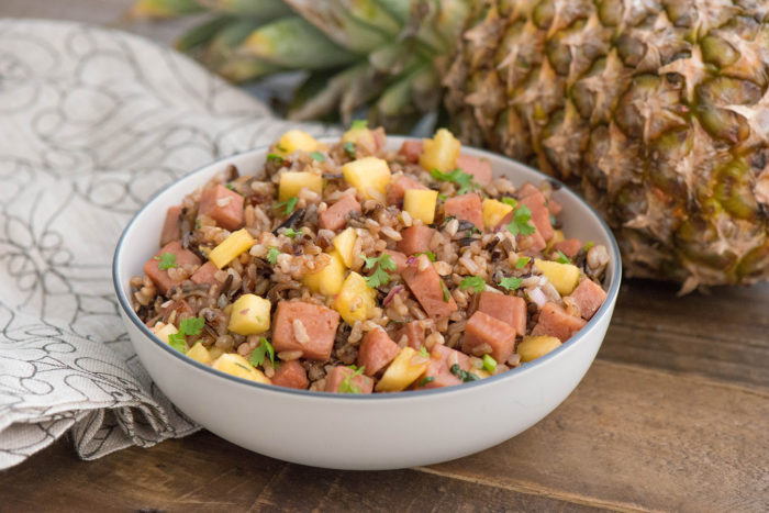 Pineapple Wild Rice