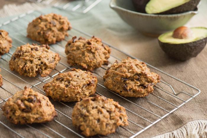 oatmeal avocado cookies