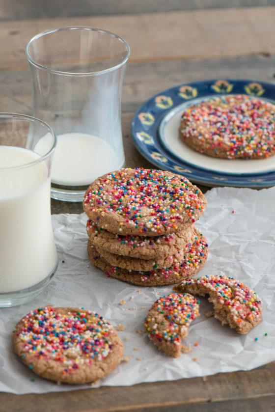 Airfryer Sprinkle Biscuits