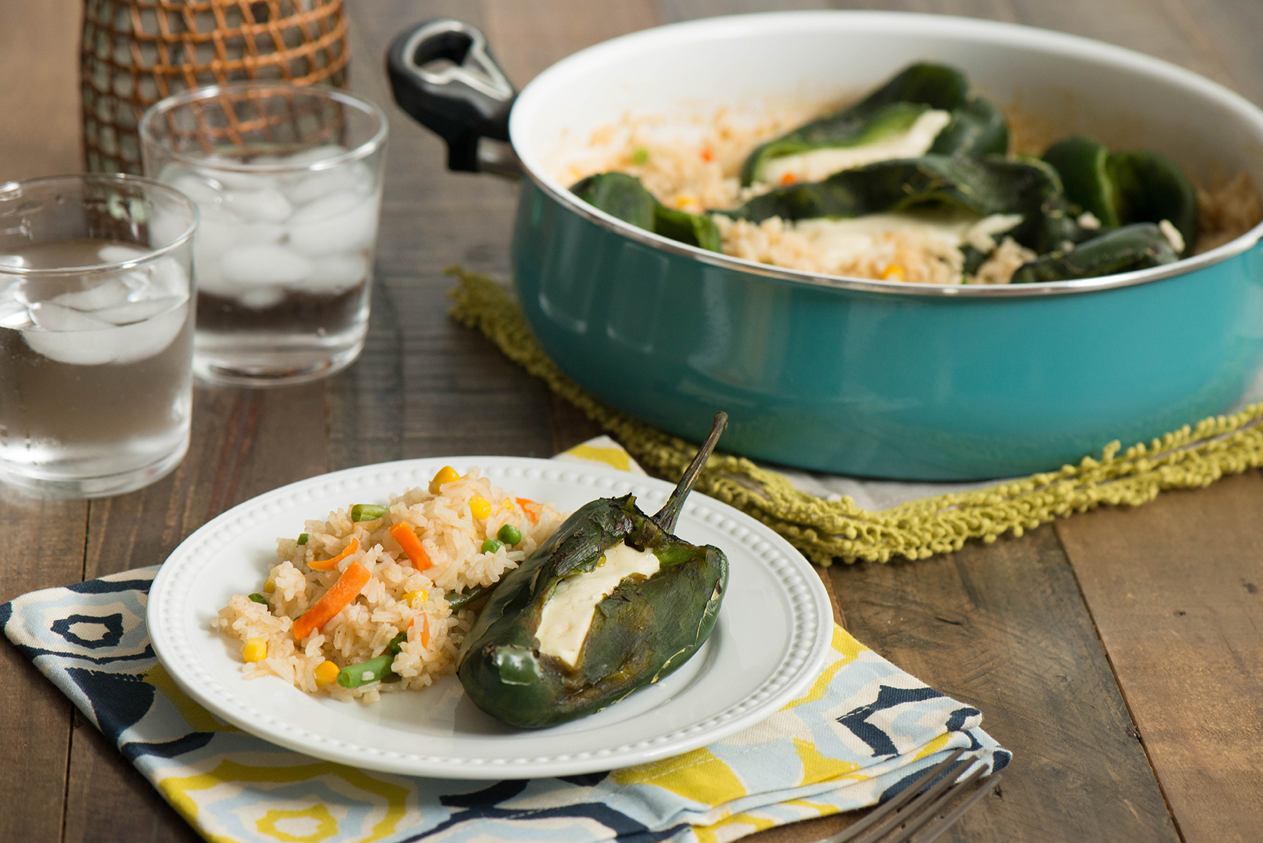 One-Pot Chiles Rellenos