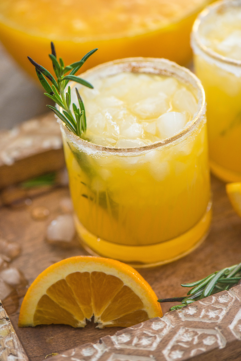 Orange Rosemary Margarita