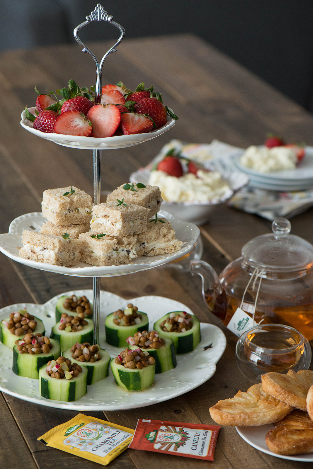 Savory Tea Party Food Recipes