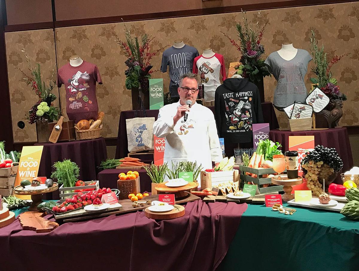 Chef Restaurant Disneyland Hotel Recette Foie Gras