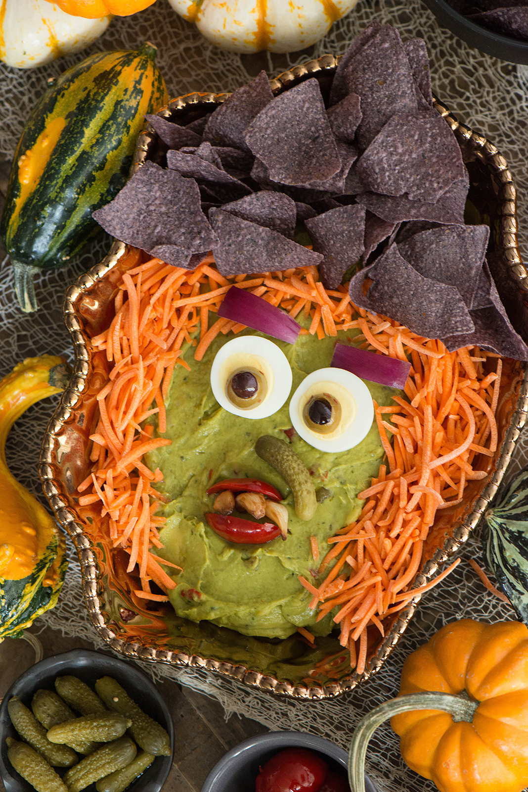 hatch guacamole dip witch - nibbles and feasts