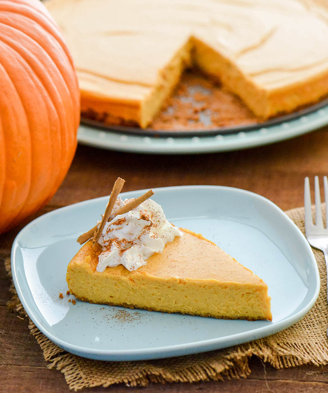Creamy Pumpkin Cheesecake Nibbles And Feasts