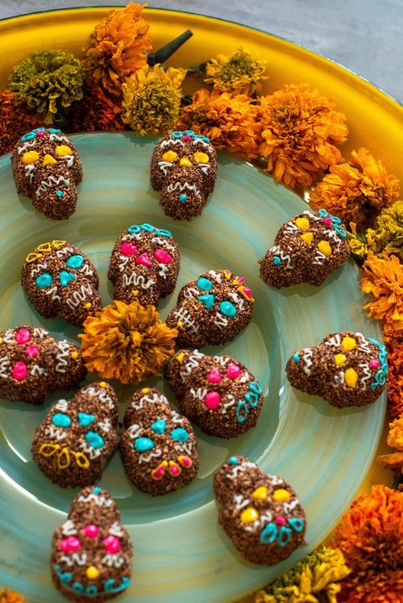 Chocolate Amaranth Calaveritas